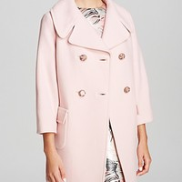 kate spade new york Jacques Double Breasted Coat
