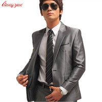 Men's Tuxedo Formal Fashion Slim Fit Business Dress Blazer Suit