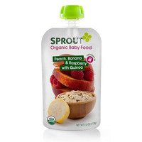 Sprout Og2  Peach Berry Baby Food (10x4oz)
