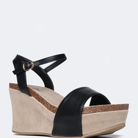 Zella Strappy Wedges