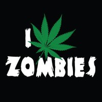 Zombie Cloth Patch - I Weed Zombies