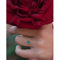 Pietra Ring - Copper Turquoise (BJR066A)