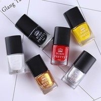 6 Bottles 6ml Born Pretty Stamping Polish Nail Art Varnish Nail Plate Printing Polish 1-6 # 27291