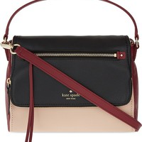 KATE SPADE NEW YORK - Cobble Hill small Toddy leather shoulder bag | Selfridges.com