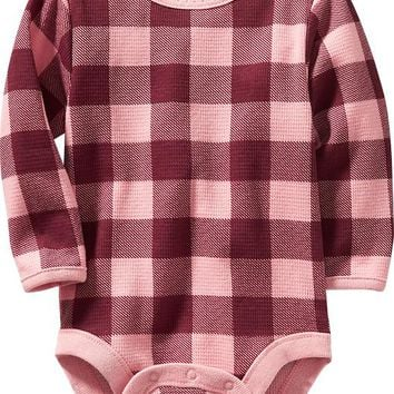 Old Navy Waffle Knit Bodysuits For Baby