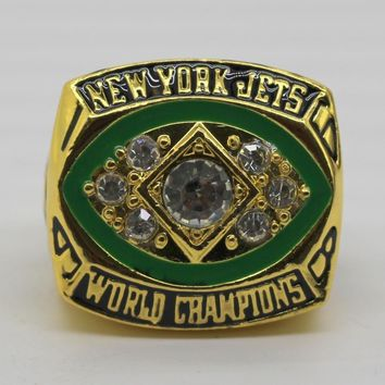 1968  NEW YORK  JETS  world championship ring
