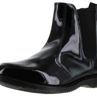 Dr. Martens Faun Chelsea Womens Booties Patent Leather