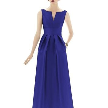 Alfred Sung - D655 Bridesmaid Dress in Electric Blue
