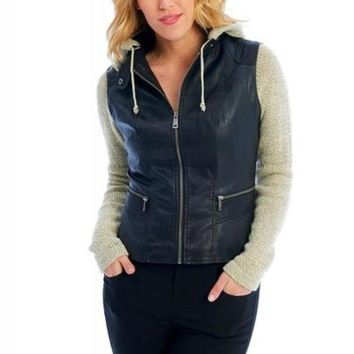Versatility Vest With Removable Hood & Sleeves