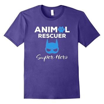 Adopt a Dog or Cat T Shirt - Animal Rescue Pet Adoption Tee