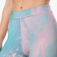 HYPE PINK MARBLE WOMEN'S LEGGINGS