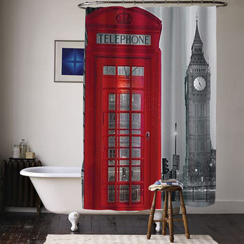 Just Home London special custom shower curtains available size