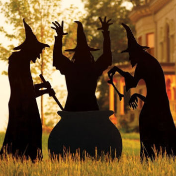 Martha Stewart Three Witches Silhouette - Grandin Road