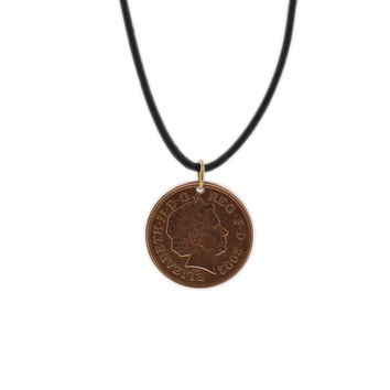 Jared's Penny Necklace