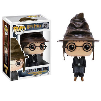 5Patterns Funko POP Hat Cap Harry Potter Hermione Jean Grang Severus Vinyl Figure Toys 10 cm PVC toys figura Model doll de vinil