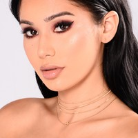 Gianna Choker Set - Gold