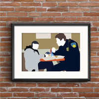 The Wire Poster - Bodie & McNulty Print
