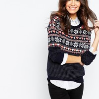 Only Night Sky Knitted Christmas Jumper