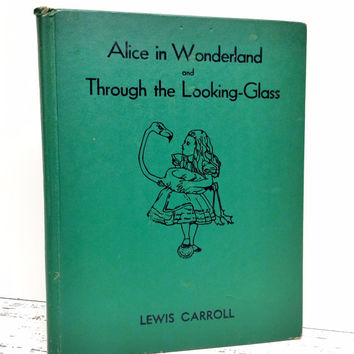 Alice in Wonderland and Through the Looking Glass,1937,Fairy Tale Book,Color illustrations,Ephemera