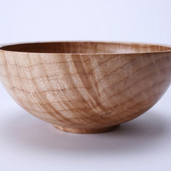 Flame Maple Wooden Bowl 669