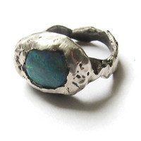 Heather Hoffman - Sterling Elizabeth Opal Ring