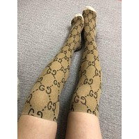 GUCCI GG Lurex Long Socks