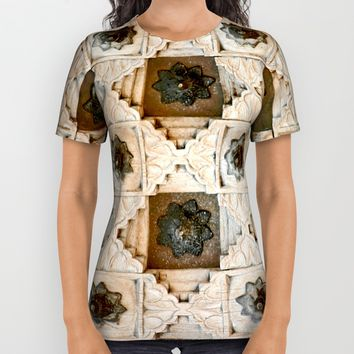 Door All Over Print Shirt by Henrik Lehnerer