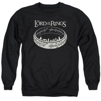Lord Of The Rings - The Journey Adult Crewneck Sweatshirt Officially Licensed Apparel