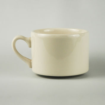 Homer Laughlin 0000-0121 8 Oz Cappuccino Mug