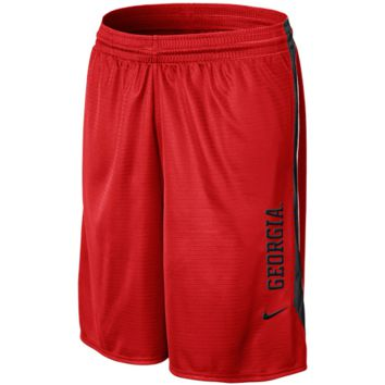 Nike Georgia Bulldogs Classic Mesh Shorts - Red