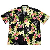 pebble hawaiian aloha rayon shirt