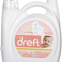 Dreft Liquid 2x Concentrated Detergent 96 loads - 150 oz