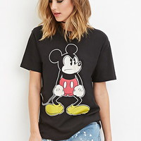 Angry Mickey Graphic Tee