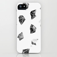 Marble Fragments iPhone & iPod Case by Leandro Pita