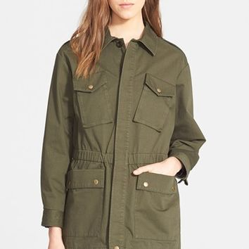 Women's A.P.C. Cotton Twill Parka,
