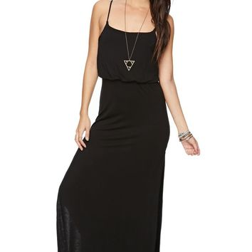 LA Hearts Waisted Maxi Dress - Womens Dress -
