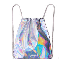 Hologram Drawstring Backpack