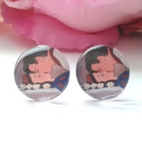 Princess & Prince Stud Earrings - Studs - Earrings - Stud Earrings - Earring Studs - Fake Plugs