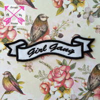 Girl Gang patch, Girl gang patches, Girl gang, patch, Popular patch,