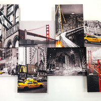 "Clair Canvas 3 Dimensional - New York 20"" x 30"""