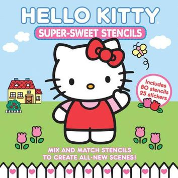 Hello Kitty Super-Sweet Stencils ACT CSM NO