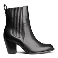 H&M - Leather Boots