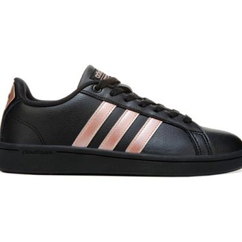 Women's Cloudfoam Advantage Stripe Sneaker