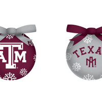 Texas A&M Aggies LED Box Set Ornaments