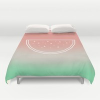Watermelon Duvet Cover by eDrawings38