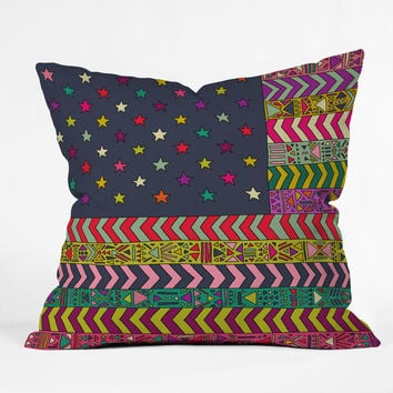 Bianca Green My USA Throw Pillow