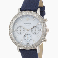 Kate Spade Pave Metro Grand Watch Navy ONE