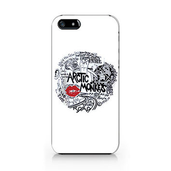 M-574- Arctic monkeys design for iPhone 4/5/5C/6 case, Samsung galaxy S4/S5/Note3 case