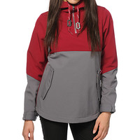 Empyre Midway Charcoal & Burgundy 10K Softshell Jacket