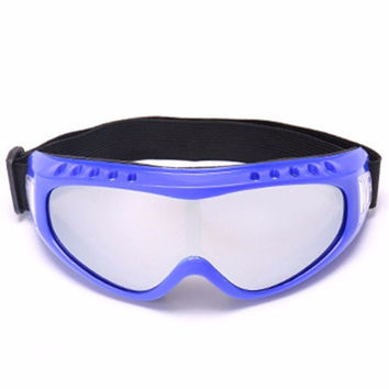 Men Women Ski Goggles Outdoor Riding Glasses Motorcycle Wind Sunglasses